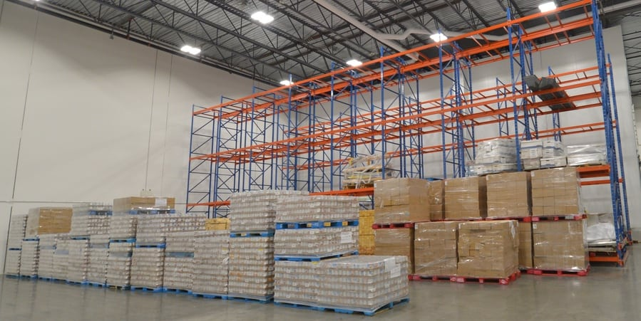 AMAN warehousing steel racks