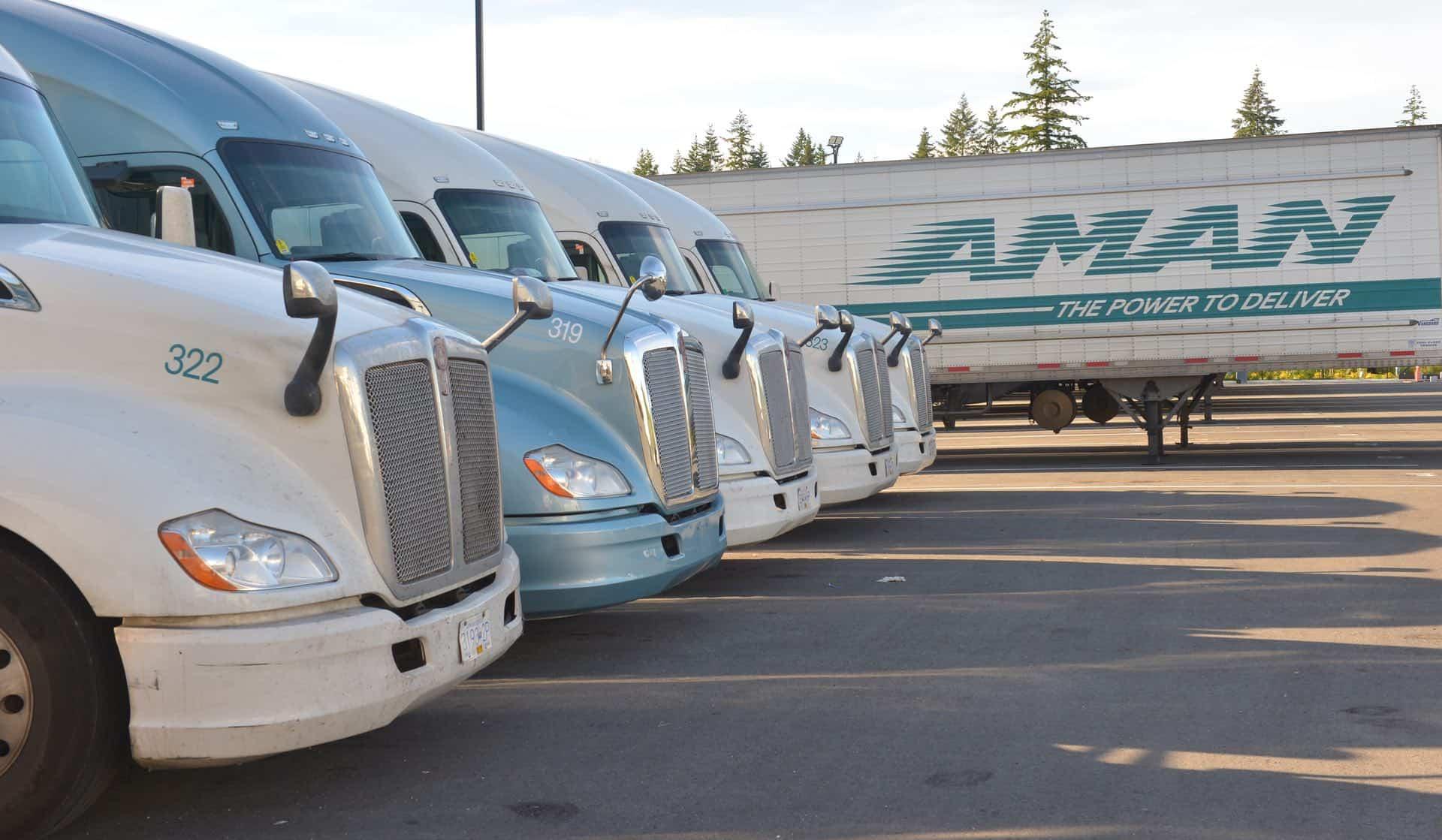 Aman fleet of trailers